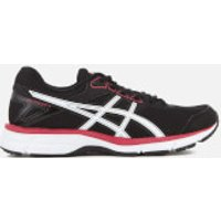 Asics Women's Gel Galaxy 9 Trainers - Black/Rouge Red/White - UK 7 - Black