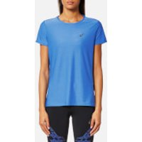 Asics Womens Short Sleeve Top - Regatta Blue - L - Blue