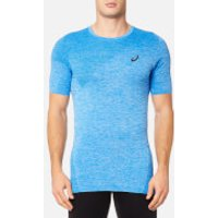 Asics Mens Seamless Top - Directoire Blue - M - Blue