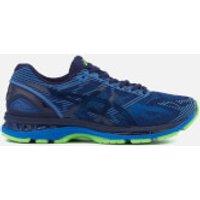 Asics Running Mens Gel Nimbus 19 Lite Show Trainers - Indigo Blue/Directoire Blue/Reflective - UK 9.5 - Blue