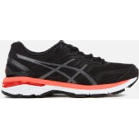 Asics Womens GT-2000 5 Trainers - Black/Carbon/Hot Orange - UK 4 - Black