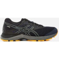 Asics Running Mens Gel Pulse 9 GTX - Winter Running Trainers - Peacoat/Black/Gold Fusion - UK 8 - Black