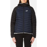 Jack Wolfskin Womens Zenon Storm Jacket - Night Blue - S - Blue