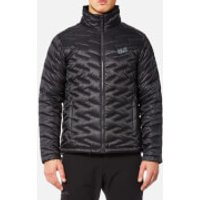 Jack Wolfskin Mens Icy Creek Padded Jacket - Phantom - M - Black