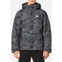 Jack Wolfskin Mens Mountain Edge Jacket - Black - XL - Black