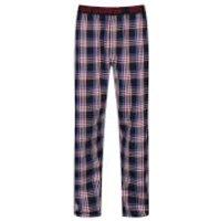 Ben Sherman Mens Blake Check Lounge Pants - Red - L - Red