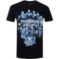 WWE Mens Wrestlemania Group T-Shirt - Black - XL - Black