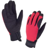 Sealskinz Dragon Eye Road Gloves - Black/Red - XXL - Black/Red