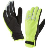 Sealskinz All Weather Cycle Gloves - Yellow/Black - L - Yellow/Black