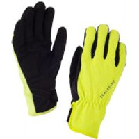 Sealskinz Womens All Weather Cycle Gloves - Black/Yellow - M - Black/Yellow