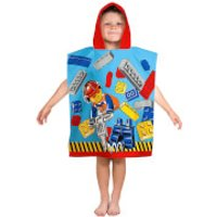 LEGO City: Construction Poncho Towel - Construction Gifts