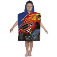 Nickelodeon Blaze Zoom Poncho Towel