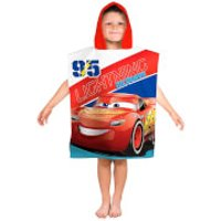 Disney Cars 3 Lightning Poncho Towel