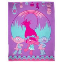 Trolls Glow Polar Fleece Blanket - Blanket Gifts