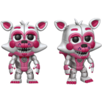 Five Nights at Freddy's Sister Location Funtime Foxy Pop! Vinyl Figure - Sister Gifts