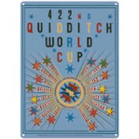 Harry Potter Quidditch World Cup Large Tin Sign (41.5 x 31cm) - World Cup Gifts