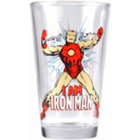 Marvel Ironman Large Glass in Gift Box - Ironman Gifts