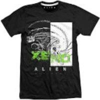 Alien XENO Men's Black T-Shirt - L - Black - Alien Gifts
