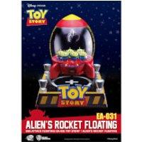 Beast Kingdom Disney Toy Story Egg Attack Alien's Floating Rocket Model with Light up Function 18cm