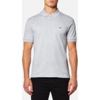 Lacoste Mens Polo Shirt - Silver Chine - S/3 - Grey