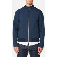 Lacoste Mens Zipped Blouson Jacket - Navy Blue - L/42cm - Blue