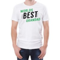 World's Best Grandad Men's White T-Shirt - XXL - White - Grandad Gifts