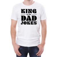 King Of The Dad Jokes Mens White T-Shirt - S - White