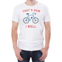 That's How I Roll Men's White T-Shirt - XXL - White