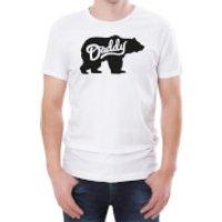 Daddy Bear Mens White T-Shirt - L