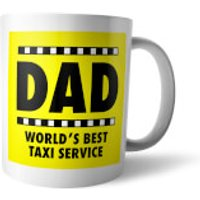 Yellow Dad Taxi Mug