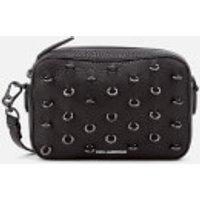 Karl Lagerfeld Womens K/Piercing Small Cross Body Bag - Black/Black