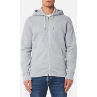 Levis Mens Original Zip Up Hoody 2 - Medium Grey Heather - XXL - Grey
