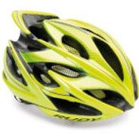 Rudy Project Windmax Helmet - L/59-61cm - Yellow Fluo/Shiny Black