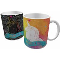 Unicorn Heat Changing Mug - Multi - Mug Gifts