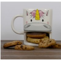 Unicorn Cookie Cup - White - Cup Gifts