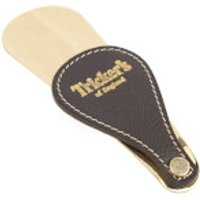Tricker's Leather Fob Shoe Horn - Brass