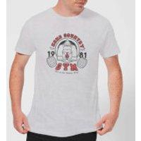 Nintendo Donkey Kong Gym Men's Light Grey T-Shirt - XXL - Light Grey - Donkey Gifts