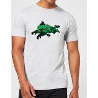 Nintendo Donkey Kong Silhouette Men's Light Grey T-Shirt - XL - Light Grey - Donkey Gifts