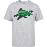 Nintendo Donkey Kong Silhouette Men's Light Grey T-Shirt - XL - Light Grey