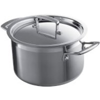Le Creuset 3-Ply Stainless Steel Deep Casserole Dish - 20cm
