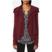 BOSS Orange Womens Wijay Cardigan - Dark Red - L - Red