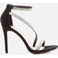 Miss KG Women's Dutchess Strappy Heeled Sandals - Black - UK 3 - Black