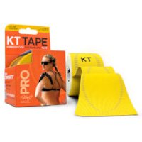 KT Tape Pro Synthetic Precut 10 - Solar Yellow