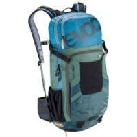 Evoc Protector FR Enduro Team 16L Backpack - Copen Blue/Olive/Slate - S - Blue/Green/Grey
