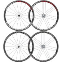 Campagnolo Bora Ultra 35 Tubular Wheelset 2018 - Shimano/SRAM - Bright Label