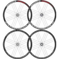 Campagnolo Bora One 35 Disc Brake Clincher Wheelset 2018 - AFS Rotor - Shimano/SRAM - Dark Label