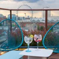 Seven-Course Tapas and Cocktails for Two at H10 Waterloo Sky Bar