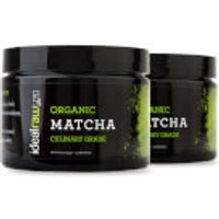 Organic Matcha Tea - 2 Tubs (60 Servings)