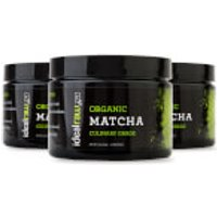 Organic Matcha Tea - 3 Tubs (90 Servings)