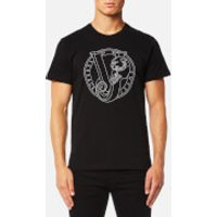 Versace Jeans Men's Large Chest Logo T-Shirt - Nero - L - Black